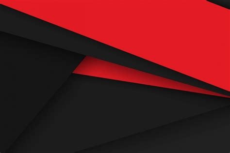 Black And Red Design Android 5 Lollipop Red Black Abstract Material Design
