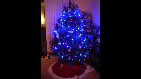 blue light tree tree blue lights www imgkid the image