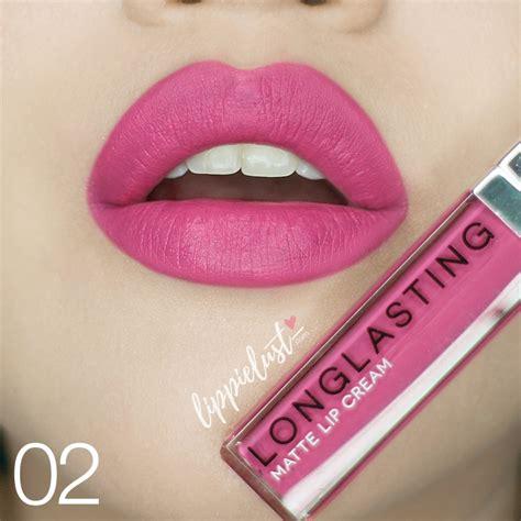 Lt Pro Lasting Matte Lip Warna 02 8ml swatched lt pro longlasting matte lip lippielust