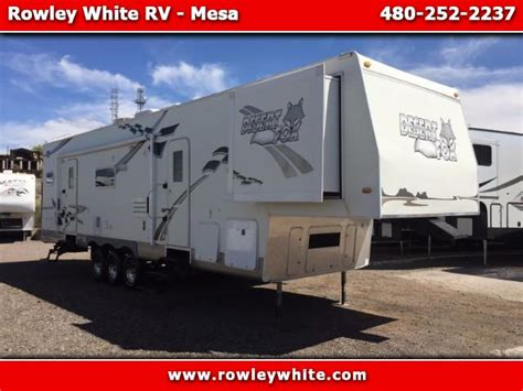 desert fox hauler new used travel trailer hauler rv at rowley white rv