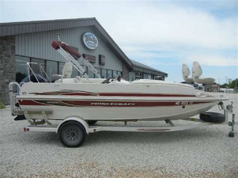princecraft deck boat for sale used used princecraft boats for sale boats