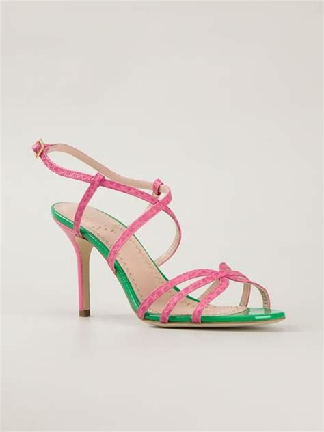 Octav Luxe Strappy Sandals Green 370 best flower shoes images on floral shoes floral toms and flower shoes