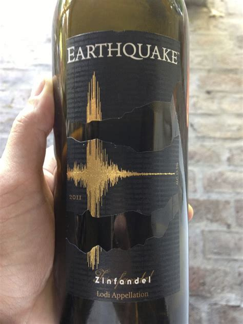 earthquake zin 432 best images about wine label design on pinterest