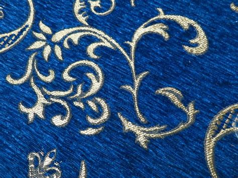 blue chenille upholstery fabric sofa fabric upholstery fabric curtain fabric manufacturer