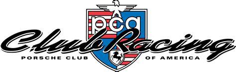 porsche racing logo carrera of the americas porsche club of america