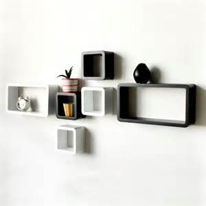 Quirky Bookshelves - decorative wall shelves easy to install and removable decor ideasdecor ideas