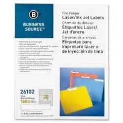 templates for business source labels business source 26102 laser inkjet file folder labels