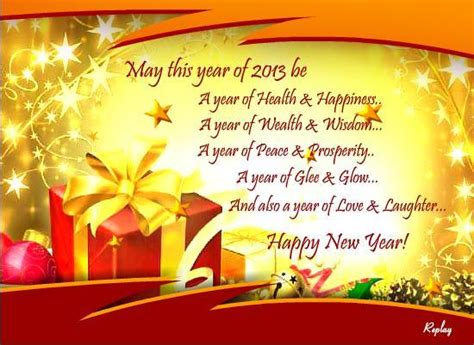 happy new year 2013 wishes greetings and messages the wondrous pics