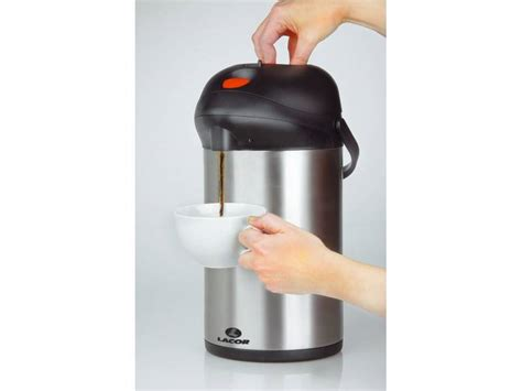 Promoo Push Button No Touch lacor insulated jug with push button 2 5 liter m t