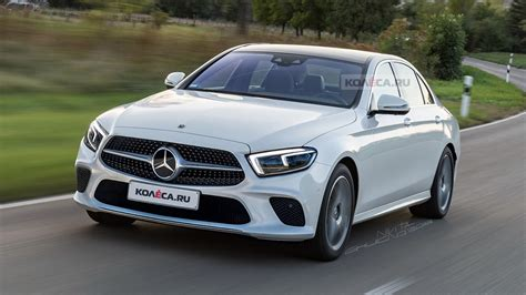 Mercedes E Class Facelift 2019 by Russian Media Envisage The 2020 Mercedes E Class Facelift