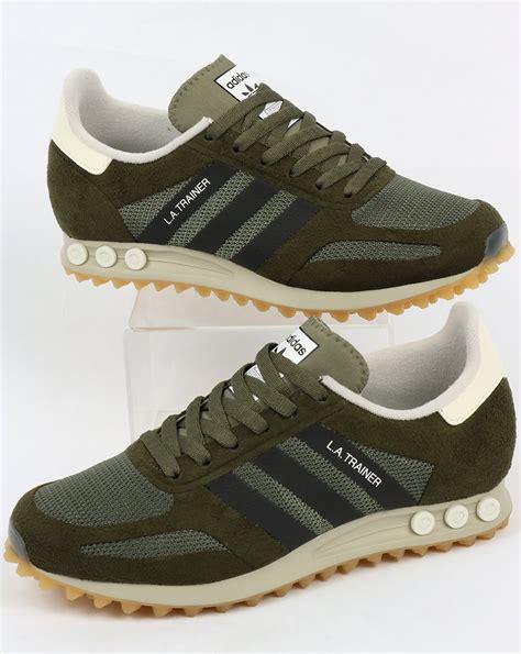 adidas la trainer og st major greenblack trainers mens