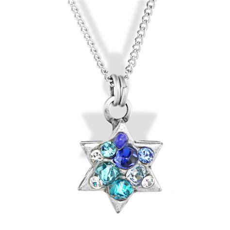 jewelry judaica fancy small of david pendant