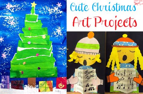 cute christmas art projects deep space sparkle