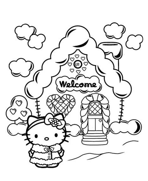 hello kitty large coloring pages 20 free printable hello kitty coloring pages printable