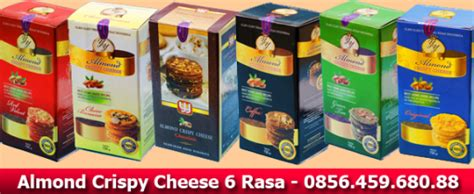 Almond Choco Cheese Wisata Rasa almond crispy cheese surabaya 0856 459 680 88 5e386734