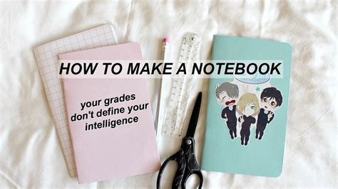 Notebook Anime Notebook Yuri On Victuri diy notebooks yuri on aesthetic how to make a notebook travelers notebook insert