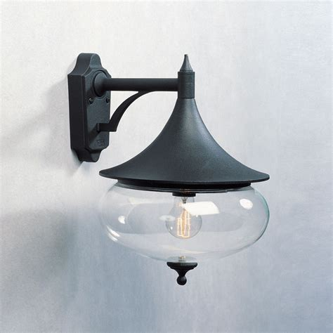 konstsmide 581 750 libra 1 light outdoor wall bracket
