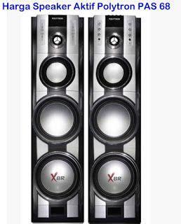 harga speaker aktif polytron pas 68 xbr speaker aktif