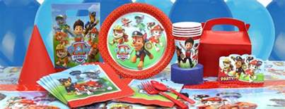 paw patrol party supplies party delights