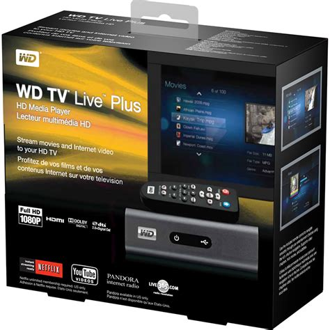 Amc Live Hd Tv Live Wd Tv Live Plus Hd Media Player With New Netflix Interface Hardware Canucks