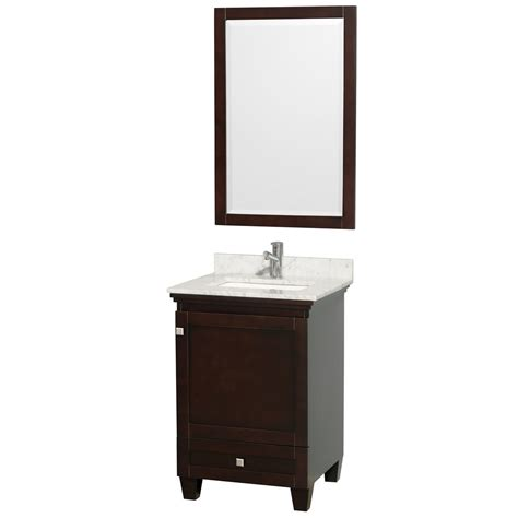 vanity bathroom sets acclaim 24 quot espresso bathroom vanity set solid oak vanity