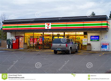 lighting stores springfield 7 eleven convenience store editorial image image of