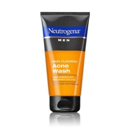 Neutrogena Mens Invigorating Wash Original Usa Berkualitas neutrogena 174 skin clearing acne wash