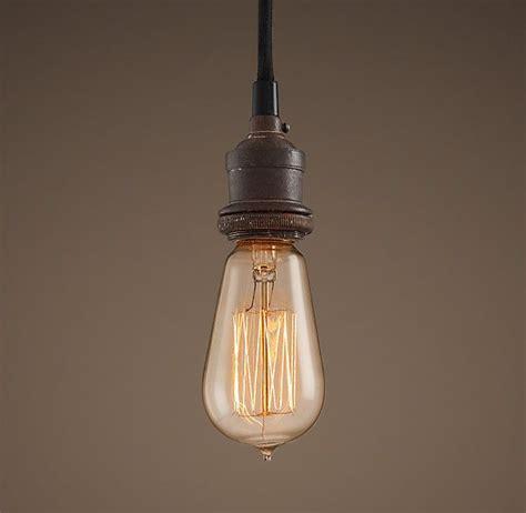 Bare Bulb Filament Single Pendant Portfolio Stuff Bare Bulb Pendant Light Fixture