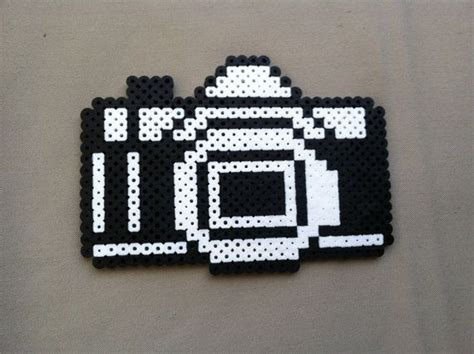 black perler perler bead black and white black and