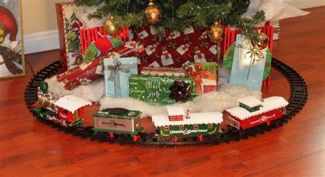 around the tree set trainsets for time for the holidays