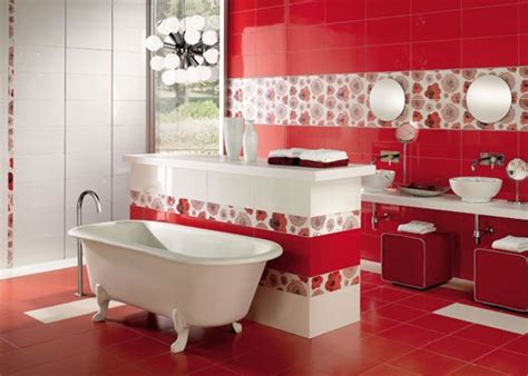 red bathroom design ideas 39 cool and bold red bathroom design ideas digsdigs