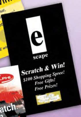 Scratch To Win Gift Cards - index card size scratch n win card usimprints