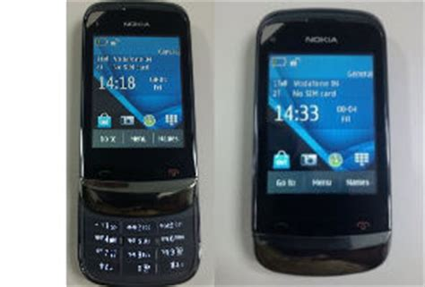 Hp Nokia C2 C3 nokia c2 06 touch and type slider leaked technology news