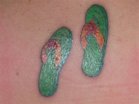flip flop tattoos 2nd flip flop obsession inked s