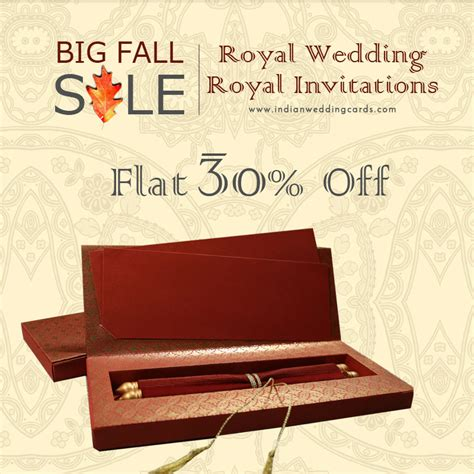 wedding card sles indianweddingcards come up with quot big fall sale flat 30 quot sitewide