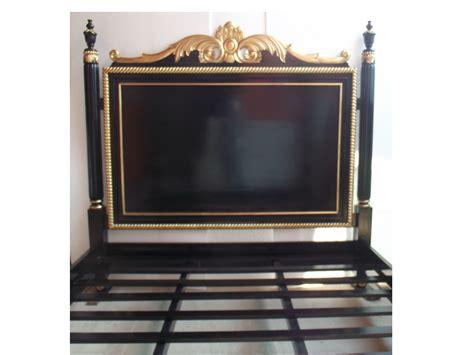 grand lit king size 180x200 style baroque dor 201 192 la
