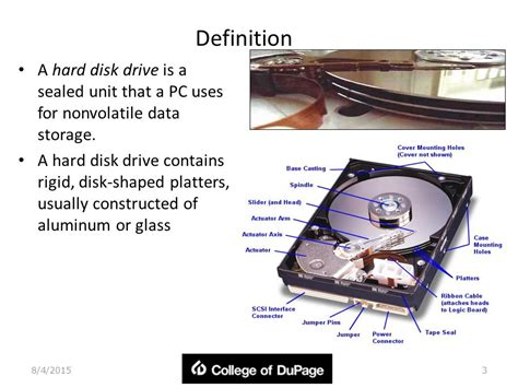 drive meaning hard disk storage 4 19 ppt video online download