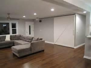 Cozy Living Room Design Retro Ranch Reno Behr S Gentle Rain Colors For Home