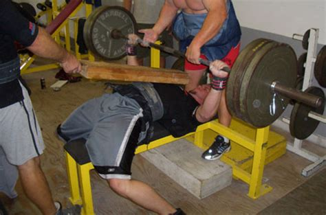 board bench press a board with your bench press
