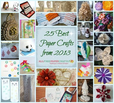 all free paper crafts printable paper crafts for adults images