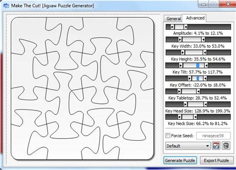 jigsaw pattern generator 68 best images about make the cut on pinterest sports