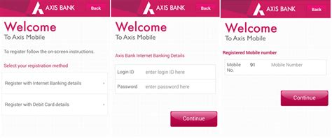 axis bank mobile banking app for android review problems