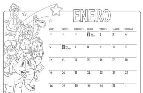 Enero Calendario 2015 Calendario 2016 Para Imprimir