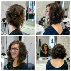 how to cut a aline bob on wavy hair 25 best ideas about long curly haircuts on pinterest