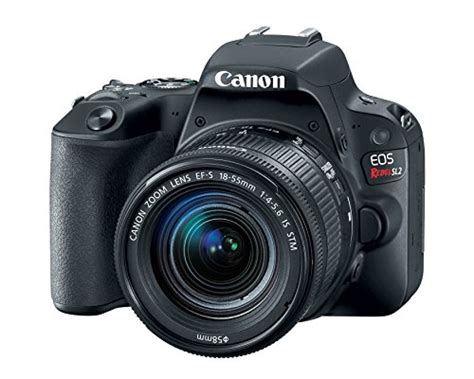 Wifi Dslr Canon canon eos rebel sl2 dslr with ef s 18 55mm stm lens