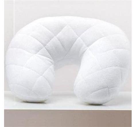 cuscino collo viaggio cuscino collo da viaggio 45 12 bianco poliestere 19 80