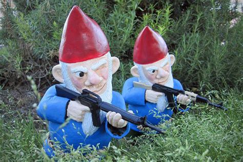 gnome in front yard 7 badass garden gnomes to protect your front lawn