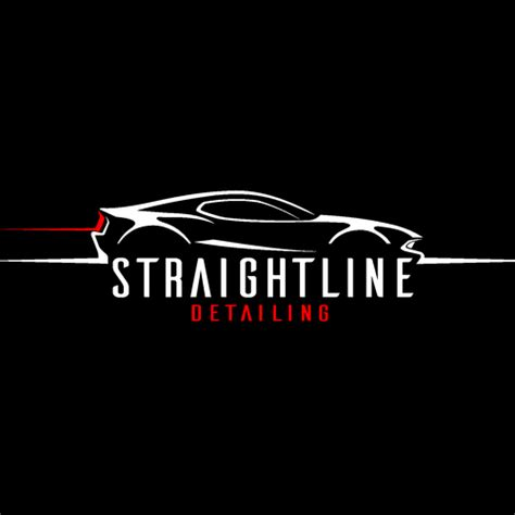 Auto Detailing Logo Ideas by Straightline Automotive Detailing Logo Design Contest