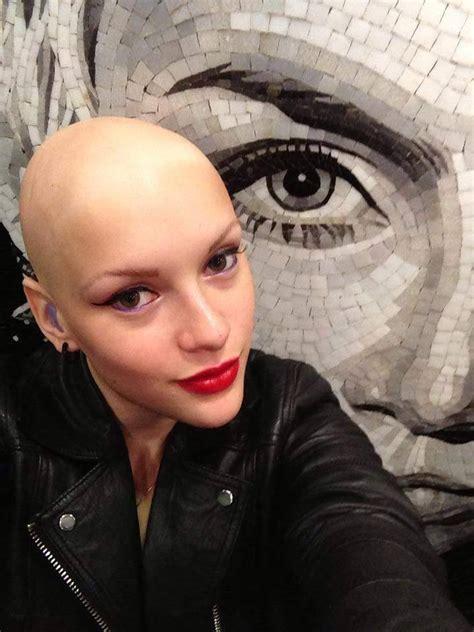 ladies headshaving bald women smooth bald head bald women post