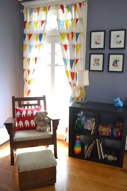 Ikea Nursery Curtains We This Colorful Diy Nursery Featuring Ikea S Vitaminer Vimpel Curtains And The Expedit
